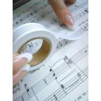 【送料込み価格】 五楽線テープ 通常タイプ(12mm幅)  五線譜 譜面 シール 吹奏楽部員から音大生・プロ演奏家まで幅広く使用される人気アイテム!!