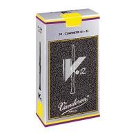 【送料無料】V12 バンドーレン (バンドレン) B♭ クラリネット 用 リード  吹奏楽部・クラシック奏者に人気の V12 シリーズ 10枚入り