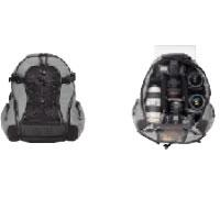 TENBA  バックパック 小サイズ 品番632-301  ブラック/オリーブ Small Backpack