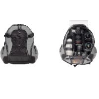 TENBA  バックパック 小サイズ 品番632-302  シルバー/ブラック Small Backpack