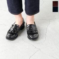 """正統派の英国靴ブランドChurch's(チャーチ)より、ポリッシュドレザータッセルキルトローファー""""..."""