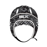 衝撃吸収力の高い素材を採用したヘッドガードです。  頭部を固定する背面部の紐は伸縮性のあるストリング...