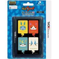 特価!【新品】3DS 妖怪ウォッチ カードケース12(ブラック)<レベルファイブ>