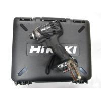 日立(HIKOKI) WH36DA(黒)36V インパクトドライバー 本体のみ+サービス収納ケース付き