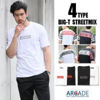 インパクトのある背面ショルダーデザイン、フロント ボックスロゴのTシャツ 大注目の春夏ストリートスタ...