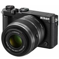 ○ニコン ミラーレス一眼カメラ Nikon 1 J5 ダブルズームレンズキット [ブラック]