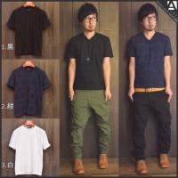 [商品説明] 一見シンプルに見えるネイティブジャガードのTシャツ。 無地は寂しいけどデザイン性が強過...