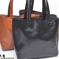 [商品説明] 本革を使用したトートバッグ。 使い込むほどに表情が変わる大人のレザー。 普段使いからビ...