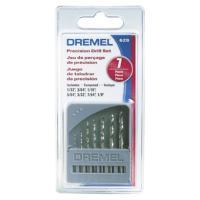 ドレメル・ハイスドリルビットセット7本入り。ドレメルチャックを使って把握できるドリルセットで、主に木...