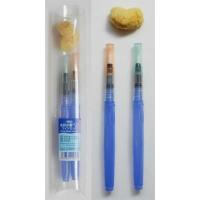 水彩水筆ペン ツインセット  ●内容品  水筆ペン 大  水筆ペン 中  海綿