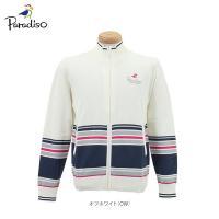 【特長】 柔らかな肌ざわりで着心地抜群。 カラーごとにボーダー柄のデザインが異なるフルジップセーター...
