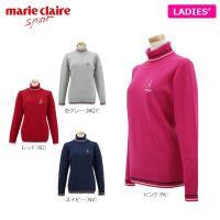 【特長】 衿元・袖口・裾の3ラインがデザインアクセント! やさしい肌ざわりのタートルネックセーター。...