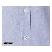 ワイシャツ | クールビズ対応オックスフォードボタンダウン半袖シャツ CB1068 O X ブルー Mサイズ