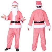 メンズサンタ | 〔クリスマスコスプレ 衣装〕 GOGOサンタサン ピンク