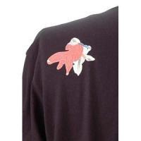 ヴィンテージシャツ   語れる立体和柄ロングTシャツ S-148M8/七匹金魚 LL(NP)