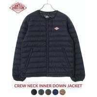 DANTON ダントン CREW NECK INNER DOWN JACKET 全2色 インナー ダ...