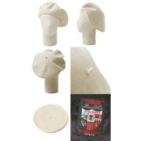 BUENA VISTA(ブエナビスタ) Basque Beret (13.5) ホワイト / (バスク ベレー ベレー帽 帽子 バスクハット) TDB-06