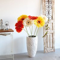 ガーベラ 造花 大型 観葉植物 花 アレンジ アートフラワー 花材 単品 Queen Gerbera