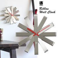 ■RIBBON WALL CLOCK サイズ:直径300 奥行き57 mm 材質:スチール カラー:...