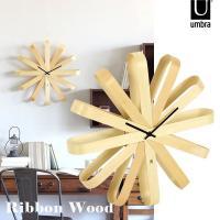 木製のおしゃれな壁掛け時計です。 サイズ:直径514 奥行き95 mm 材質:天然木、スチール デザ...