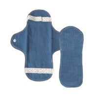 ■ 藍染め 布ナプキン セット ホルダー1枚&パット1枚 とは    藍とオーガニックコット...
