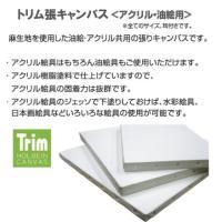 ホルベイン Trim(トリム)張りキャンバス(麻100%)中目 F0 [油彩・アクリル用]