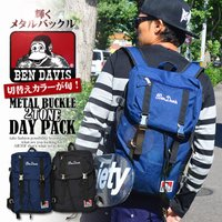 ベンデイビス バッグ BEN DAVIS METAL BUCKLE 2TONE DAY PACK
