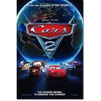 映画『カーズ2』の枚数限定&両面印刷オリジナルポスターです。配給会社が、枚数限定で、各劇場に配布した...