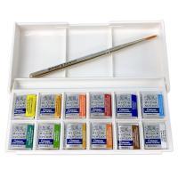 コットマン ポケットボックス 12色セット イギリス・ウィンザー&ニュートン製  サイズ:1...