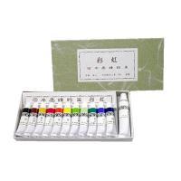 チューブ入り  容量:5mL  <色名>  黒、代赭(茶)、黄土、洋紅、朱、黄、若葉、白緑、緑青、群...