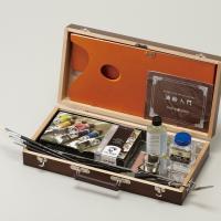 油絵の具=ヴァンゴッホ6号10色セット、ペインティングオイル55mL、 ブラシクリーナー120mL、...