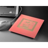 プレゼント ギフト 彫刻 卒業 記念品 送料無料 カラーガラスマウスパッドL(ピンク) 名前入り|arttech21|02