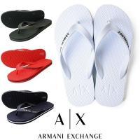 AX ARMANI EXCHANGE アルマーニエクスチェンジ ビーチサンダル  コメント 夏のリゾ...
