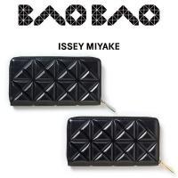BAO BAO ISSEY MIYAKE GRAM WALLET 牛革に三角の型押しをした財布シリー...