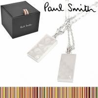 Paul Smith ポールスミス ペイズリー&ギンガムチェック ネックレス  ブランド Paul ...