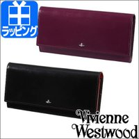 SIMPLE TINY ORB F付長札入  Vivienne Westwoodの新しい定番として登...