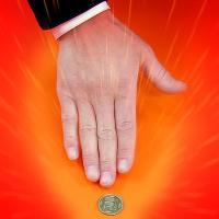 ダイレクトなコインの消失です。やさしく出来て、しかも驚きの効果。プロも使う超極秘アイテムです。【検索...