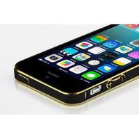 ◆:iPhone5S/SE 表面鏡面ガラスフィルム付き!  ◆:超薄2色アルミバンパー  ◆:裏面鏡...