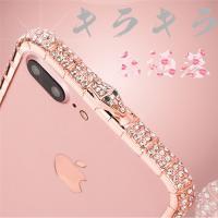 ◆:iPhone6/6S/6Splus/iphone7/7plus 女性向けメタルバンパーです。  ...
