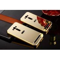 ◆:ASUS ZenFone 2 Laser (ZE500KL)  PC素材鏡面バックプレート付き!...