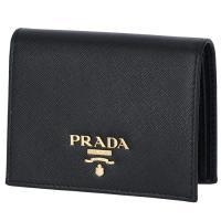 プラダ PRADA 2018年春夏新作 サフィアーノ 財布 二つ折り  ミニ財布 二つ折り財布 1MV204 QWA 002