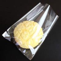 パン・お菓子の個包装用袋です。メロンパン1個がちょうど入るサイズです。  材質:OPP30 サイズ:...