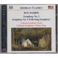 ハリス(1898-1979) 交響曲第3番 交響曲第4番 「民謡交響曲」  コロラド交響合唱団 コロ...