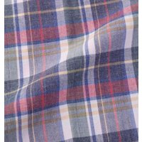 OUTDOOR 異素材使い チェック 半袖シャツ 大きいサイズ アウトドア 半袖 レギュラーカラー チェック ワッペン 洗濯OK