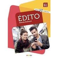 Edito (nouvelle edition): Livre B1 + CD + DVD