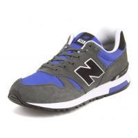 『new balance(ニューバランス) ML565 1008968 AAB グレー/ブルー』 n...