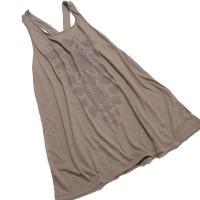 エスニックワンピース チュニック オルテガ ナチュラル エスニックファッション セール アウトレット/Yバックネイティブ柄ワンピース