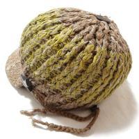 (Amina)キマリキャップ/エスニックファッション アジアンファッション エスニック帽子 ヘンプアウトレット セール