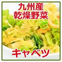 乾燥野菜 国産 九州産 キャベツ 125g 簡単・便利・保存が利く!国産乾燥野菜 そのまま食べても美...