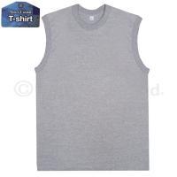 ▼ 商品説明 メンズ丸首スリーブレスTシャツです。 無地のTシャツなのでYシャツの下にもOKなシャツ...